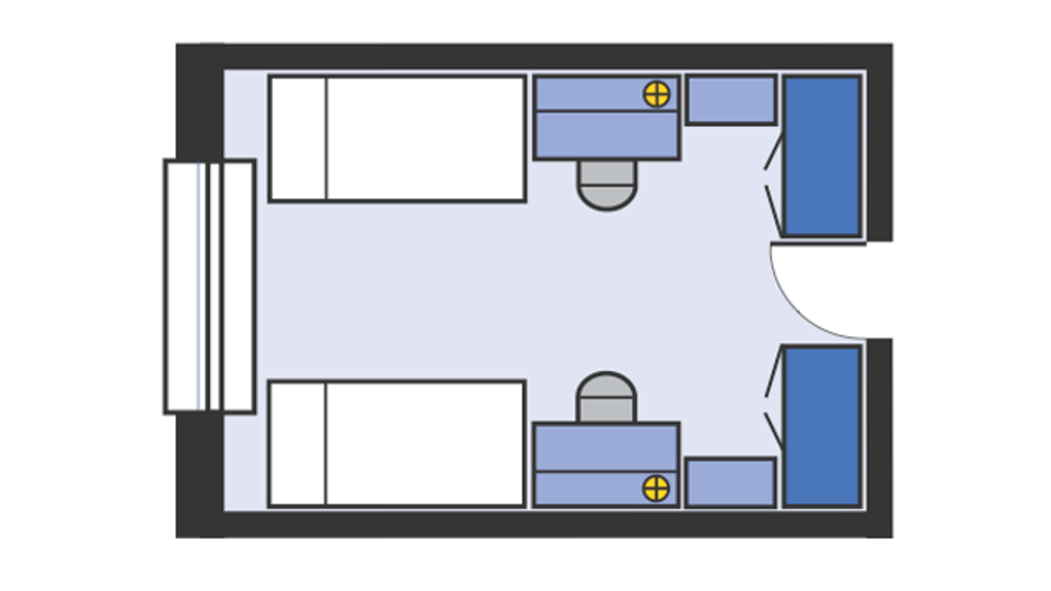 Mathes double room layout