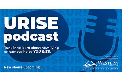URISE podcast: Tune in to learn about how living on campus helps you rise